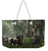 Elephant Kingdom Weekender Tote Bag