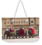 Elephant Ride 2 Weekender Tote Bag