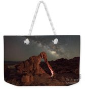 Elephant Rock Milky Way Galaxy Weekender Tote Bag