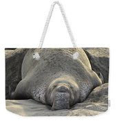 Elephant Seal 3 Weekender Tote Bag