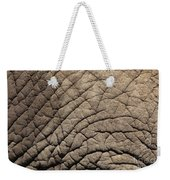 Elephant Skin Background Weekender Tote Bag