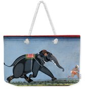 Elephant & Trainer, C1750 Weekender Tote Bag