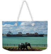 Elephants Go A Marching  Weekender Tote Bag