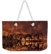 Elephants In The Clouds Weekender Tote Bag