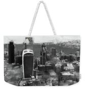 Elevated View Of London Weekender Tote Bag