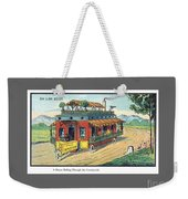 Eleventh Century French House Weekender Tote Bag