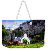 Elgol Cottage, Skye Weekender Tote Bag