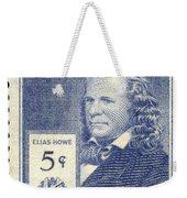 Elias Howe (1819-1867) Weekender Tote Bag