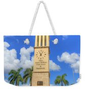 Eliza James-mcbean Clock Tower Weekender Tote Bag