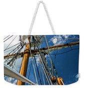 Elizabeth II Mast Rigging Weekender Tote Bag