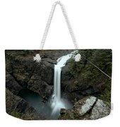 Elk Falls Provincial Park Waterfall Weekender Tote Bag