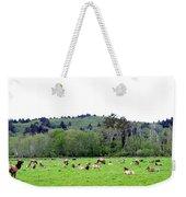Elk Herd Weekender Tote Bag