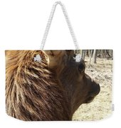 Elk Profile Weekender Tote Bag