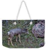 Elk With Antlers Weekender Tote Bag