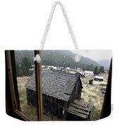 Elkhorn Snowfall Weekender Tote Bag