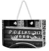 Elks Building 1889 Weekender Tote Bag
