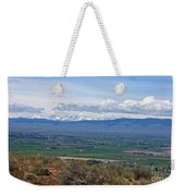 Ellensburg Valley With Sagebrush And Lupine Weekender Tote Bag