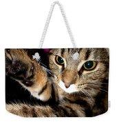 Ellie Cat Weekender Tote Bag