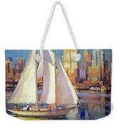 Elliot Bay Weekender Tote Bag