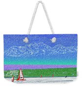 Elliott Bay Sail Weekender Tote Bag