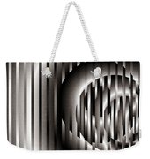Ellipse On Grid Weekender Tote Bag