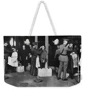 Ellis Island: Examination Weekender Tote Bag