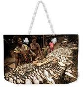 Elmina Fish Sellers Weekender Tote Bag