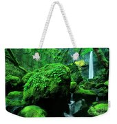 Elowah Falls 2 Columbia River Gorge National Scenic Area Oregon Weekender Tote Bag