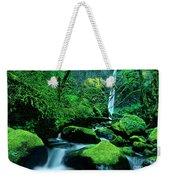 Elowah Falls 3 Columbia River Gorge National Scenic Area Oregon Weekender Tote Bag