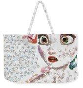 Elsa Art Pearlesqued In Fragments  Weekender Tote Bag