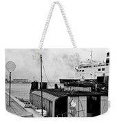 Elsinore Port Denmark Weekender Tote Bag