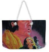 Elvis And Jon Weekender Tote Bag