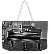 Elvis And The Black Piano ... Weekender Tote Bag