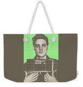 Elvis Army Mug Shot - Green Weekender Tote Bag