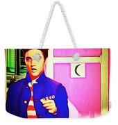 Elvis Has Left The House 20151225 Square Weekender Tote Bag