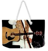 Elvis In Concert Weekender Tote Bag