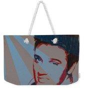 Elvis Pop Art Poster Weekender Tote Bag