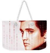 Elvis Preslely Weekender Tote Bag