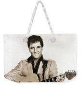 Elvis Presley By Mb Weekender Tote Bag