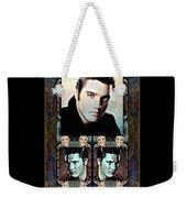 Elvis Presley Montage Weekender Tote Bag