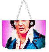 Elvis Presley The King 20160117 Weekender Tote Bag