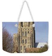 Ely Cathedral West Tower Weekender Tote Bag