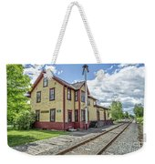 Ely Vermont Train Station Weekender Tote Bag