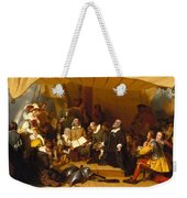Embarkation Of The Pilgrims Weekender Tote Bag
