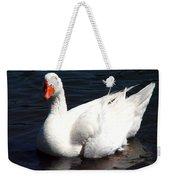 Embden Goose 2 Weekender Tote Bag