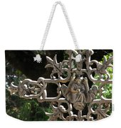 Embellished Cross Weekender Tote Bag