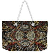 Embellished Texture Weekender Tote Bag