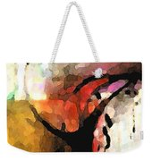 Embracing Secrets Panel One Of Two Weekender Tote Bag