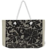 Embroidered Lace Weekender Tote Bag