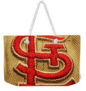 Embroidered Stl Weekender Tote Bag